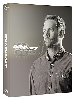 FAC #19 Fast & Furious 7 Paul Walker Edition FULLSLIP + LENTICULAR MAGNET Steelbook™ Limited Collector's Edition - numbered + Gift Steelbook's™ foil