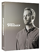 FAC #19 Fast & Furious 7 Paul Walker Edition FULLSLIP + LENTICULAR MAGNET Steelbook™ Limited Collector's Edition - numbered + Gift Steelbook's™ foil (Blu-ray)
