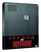 ANT-MAN 3D + 2D Steelbook™ Limited Collector's Edition + Gift Steelbook's™ foil (Blu-ray 3D + Blu-ray)