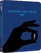 JAMES BOND 007 Sean Connery: DIAMONDS ARE FOREVER QSlip Steelbook™ Limited Collector's Edition + Gift Steelbook's™ foil (Blu-ray)