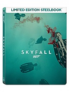 JAMES BOND 007 Daniel Craig: SKYFALL QSlip Steelbook™ Limited Collector's Edition + Gift Steelbook's™ foil (Blu-ray)