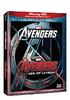 THE AVENGERS 1 + 2 3D + 2D Collection (2 Blu-ray 3D + 2 Blu-ray)