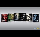 Star Wars 1 - 6 Complete Steelbook™ Collection Limited Collector's Edition + Gift Steelbook's™ foil (6 Blu-ray)