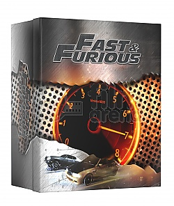 FAC #90 FAST AND FURIOUS 1 - 7 MANIACS COLLECTOR'S BOX Steelbook™ Collection Limited Collector's Edition - numbered Gift Set + Gift Steelbook's™ foil