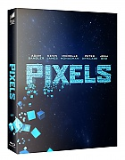 FAC #26 PIXELS FullSlip + Lenticular Magnet 3D + 2D Steelbook™ Limited Collector's Edition - numbered + Gift Steelbook's™ foil (Blu-ray 3D + Blu-ray)