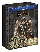 The Hobbit: The Battle of the Five Armies DWARVEN TREASURE COIN SET 3D + 2D Collection Extended cut Limited Edition Gift Set