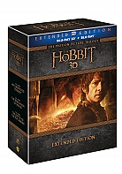 Hobit Trilogy 1 - 3 3D + 2D Collection Extended cut (6 Blu-ray 3D + 9 Blu-ray)