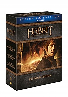 Hobit Trilogy 1 - 3 Collection Extended cut (9 Blu-ray)