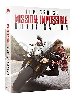 FAC #25 MISSION: IMPOSSIBLE 5 - Rogue Nation EDITION #1 FULLSLIP + LENTICULAR MAGNET Steelbook™ Limited Collector's Edition - numbered + Gift Steelbook's™ foil