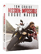 FAC #25 MISSION: IMPOSSIBLE 5 - Rogue Nation EDITION #1 FULLSLIP + LENTICULAR MAGNET Steelbook™ Limited Collector's Edition - numbered + Gift Steelbook's™ foil (2 Blu-ray)