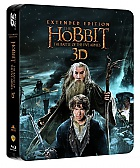 The Hobbit: The Battle of the Five Armies 3D Jumbo 3D + 2D Steelbook™ Extended cut Limited Collector's Edition (2 Blu-ray 3D + 3 Blu-ray)