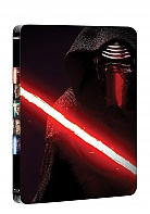 Star Wars: The Force Awakens Exclusive Steelbook™ Limited Collector's Edition + Gift Steelbook's™ foil (2 Blu-ray)