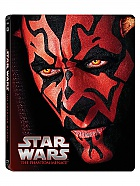 STAR WARS Episode 1: The Phantom Menace Steelbook™ Limited Collector's Edition + Gift Steelbook's™ foil (Blu-ray)