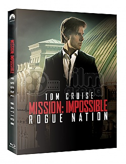 FAC #25 MISSION: IMPOSSIBLE 5 - Rogue Nation EDITION #2 FULLSLIP + LENTICULAR MAGNET Steelbook™ Limited Collector's Edition - numbered + Gift Steelbook's™ foil
