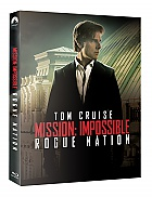 FAC #25 MISSION: IMPOSSIBLE 5 - Rogue Nation EDITION #2 FULLSLIP + LENTICULAR MAGNET Steelbook™ Limited Collector's Edition - numbered + Gift Steelbook's™ foil (2 Blu-ray)