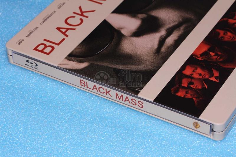 FAC #32 BLACK MASS FULLSLIP + LENTICULAR MAGNET Steelbook™ Limited