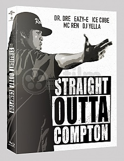 FAC #41 STRAIGHT OUTTA COMPTON FullSlip + Lenticular Magnet Steelbook™ Limited Collector's Edition + Gift Steelbook's™ foil