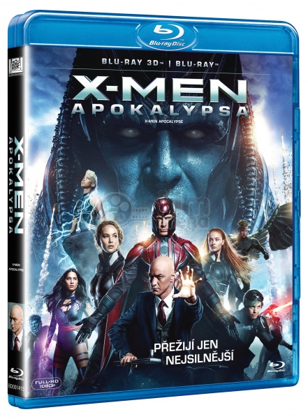 X-Men: Apocalypse 3D   2D (Blu-ray 3D   Blu-ray)