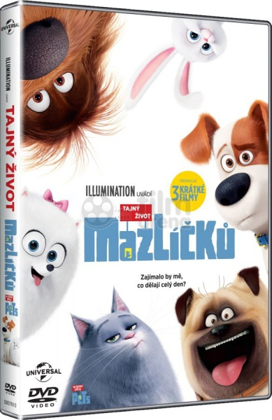 the secret life of pets dvd. Black Bedroom Furniture Sets. Home Design Ideas