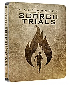 MAZE RUNNER: THE SCORCH TRIALS Steelbook™ Limited Collector's Edition + Gift Steelbook's™ foil (Blu-ray)