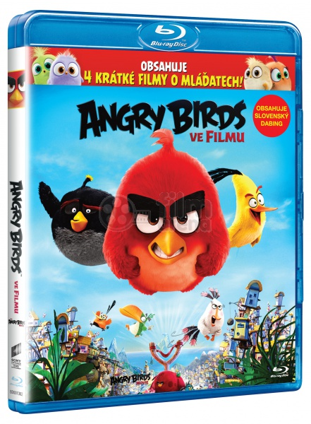 Blu Ray 3d The Angry Birds Movie 3d 2d