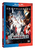 CAPTAIN AMERICA: Civil War 3D + 2D (Blu-ray 3D + Blu-ray)