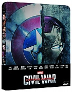 CAPTAIN AMERICA: Civil War 3D + 2D Steelbook™ Limited Collector's Edition + Gift Steelbook's™ foil