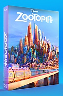 FAC #62 ZOOTOPIA FullSlip + Lenticular Magnet EDITION #1 3D + 2D Steelbook™ Limited Collector's Edition - numbered (Blu-ray 3D + Blu-ray)
