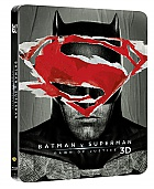 BATMAN v SUPERMAN: Dawn of Justice 3D + 2D Steelbook™ Extended cut Limited Collector's Edition + Gift Steelbook's™ foil (Blu-ray 3D + 2 Blu-ray)