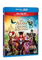 Alice Through the Looking Glass 3D + 2D (Blu-ray 3D + Blu-ray)