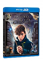 Fantastic Beasts and Where to Find Them 3D + 2D (Blu-ray 3D + Blu-ray)