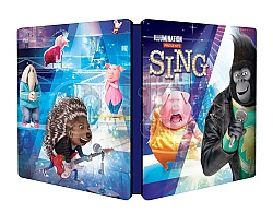 SING Steelbook™ Limited Collector's Edition + Gift Steelbook's™ foil