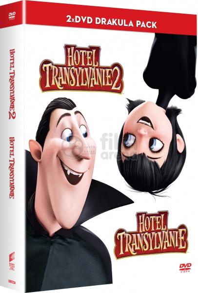 Hotel Transylvania 1 2 Collection DVD