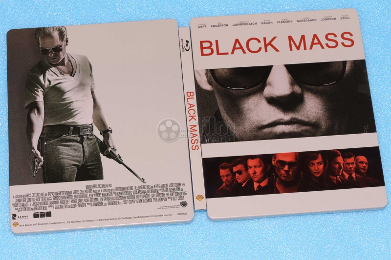 BLACK MASS Steelbook™ Limited Collector's Edition + Gift Steelbook's