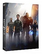FAC #33 THE FANTASTIC FOUR Lenticular FullSlip EDITION #2 Steelbook™ Limited Collector's Edition - numbered + Gift Steelbook's™ foil (Blu-ray)