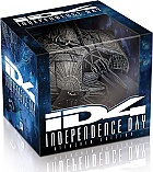 INDEPENDENCE DAY: Amaray + Alien Attacker Ship Replica (20th Anniversary) Extended cut Limited Collector's Edition (2 Blu-ray)