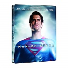 MAN OF STEEL 3D + 2D Steelbook™ Limited Collector's Edition + Gift Steelbook's™ foil + Gift for Collectors (Blu-ray 3D + Blu-ray)