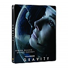 GRAVITY 3D + 2D Steelbook™ Limited Collector's Edition + Gift Steelbook's™ foil + Gift for Collectors (Blu-ray 3D + Blu-ray)