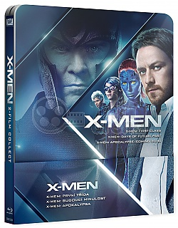 X-Men Prequel Steelbook (X-Men: First Class + X-Men: Days of Future Past + X-Men: Apocalypse) Steelbook™ Collection Limited Collector's Edition + Gift Steelbook's™ foil