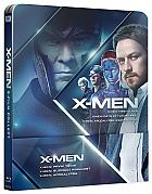 X-Men Prequel Steelbook (X-Men: First Class + X-Men: Days of Future Past + X-Men: Apocalypse) Steelbook™ Collection Limited Collector's Edition + Gift Steelbook's™ foil (3 Blu-ray)