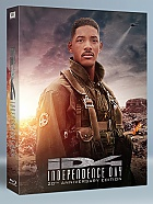 FAC #36 INDEPENDENCE DAY (20th Anniversary) FULLSLIP + LENTICULAR MAGNET Steelbook™ Extended cut Limited Collector's Edition - numbered + Gift Steelbook's™ foil (2 Blu-ray)