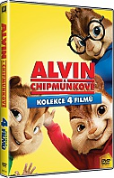 Alvin and the Chipmunks 1 - 4 Collection (4 DVD)