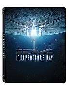 INDEPENDENCE DAY (20th Anniversary Edition) Steelbook™ Extended cut Limited Collector's Edition + Gift Steelbook's™ foil + Gift for Collectors (2 Blu-ray)