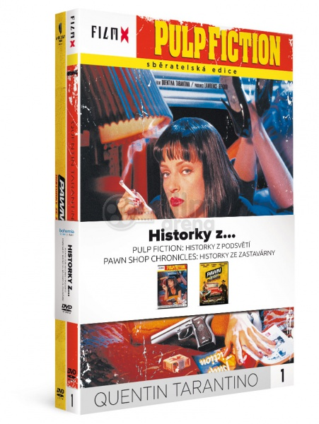 2x STORIES FROM     - Pulp Fiction: + Pawn Shop Chronicles