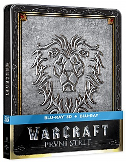 WARCRAFT 3D + 2D Steelbook™ Limited Collector's Edition + Gift Steelbook's™ foil