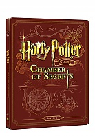 HARRY POTTER AND THE CHAMBER OF SECRETS Steelbook™ Limited Collector's Edition + Gift Steelbook's™ foil (Blu-ray + DVD)
