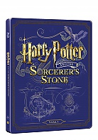 HARRY POTTER AND PHILOSOPHER´S STONE Steelbook™ Limited Collector's Edition + Gift Steelbook's™ foil (Blu-ray + DVD)