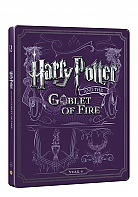 HARRY POTTER AND THE GOBLET OF FIRE Steelbook™ Limited Collector's Edition + Gift Steelbook's™ foil (Blu-ray + DVD)