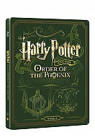 HARRY POTTER AND THE ORDER OF THE PHOENIX Steelbook™ Limited Collector's Edition + Gift Steelbook's™ foil (Blu-ray + DVD)