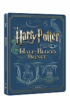 HARRY POTTER AND THE HALF-BLOOD PRINCE Steelbook™ Limited Collector's Edition + Gift Steelbook's™ foil (Blu-ray + DVD)